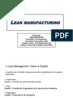 Lean management WM