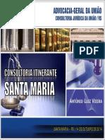 CONSULTORIA ITINERANTE AGU SANTA MARIA