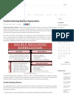 Double Declining Balance Depreciation – Daily Business