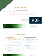 GL 3 La Logística como Estrategia de Servicio al Cliente - I %282013%29