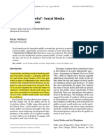 5. Utterly Disgraceful' Social Media and the Workplace.pdf