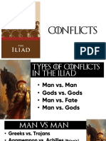 Conflicts and Themes in The Iliad