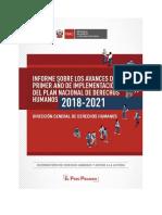 Informe Primer Año de Implementación PNDH.pdf