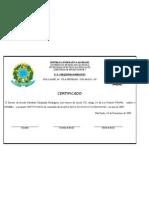 certificado 2009