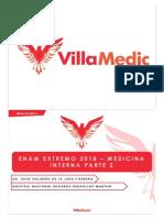 E EXTREMO 2018 - Medicina 2 - Online