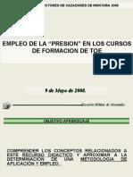 CLASE DE PRESION