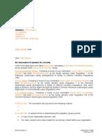N-1000-LT10 Letter - Operator Acceptance or Rejection MoSoF single jurisdiction