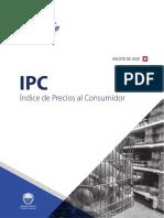 Indice de Precios al Consumidor - Agosto