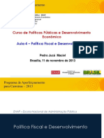 Aula 4 (Pedro Jucá  Maciel) - Política Fiscal
