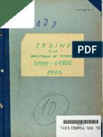Ordinul Ministrului de Interne nr. II/01717 din 23.08.1975