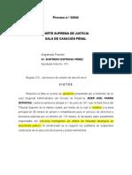 CSJ-SP Pro. 36844 (19.10.2011) - Salvamento de Voto - Copias Simple VS Original - Falsedad ideológica en Doc. Púb. - Non Bis In Idem.docx