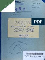 Ordinul Ministrului de Interne nr. II/02020 din 13.09.1975