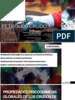 PRESENTACIÓN - ANÁLISIS DEL PETRÓLEO CRUDO