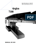 MESA CIRÚRGICA Midmark (Schaerer) 7100 - MU