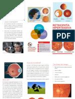 triptico de retinopatia hipertensiva