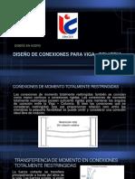 DISEÑO DE CONEXIONES PARA VIGA - COLUMNA