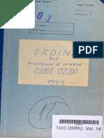 Ordinul Ministrului de Interne nr. II/02199 din 15.11.1975