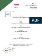Les restaurants d'Eure-et-Loir qui participent à la semaine gourmande