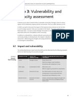 ROOTS 9 Reducing risk of disaster  6 Step 3  Vulnerability and capacity assessment