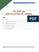 TP01 Installation et mise en place du simulateur EVE