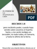 EL PODER DE LA EVANGELIZACIÓN