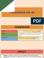 CURSINHOS EM SP