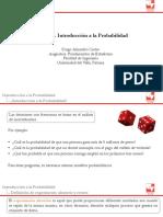 Unidad 3. Introducción a la Probabilidad
