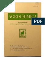 La clorosi ferrica da calcare nei terreni agrumentati della Sicilia Orientale - VI -