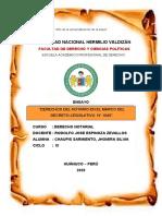 DERECHOS DEL NOTARIO (CHAUPIS SARMIENTO JHOMIRA SILVIA)