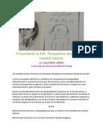 Proyectando la ESI. Perspectiva de género 16-7