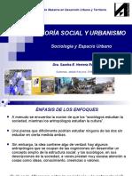 I sesion Sociologia y Espacio Urbano