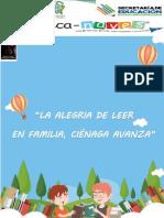 Guia Lectura _ La Alegría De Leer En Familia,Ciénaga Avanza_