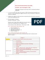 PhD Test pattern and syllabus data