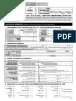 Ficha de Registro de Casos del Centro Emergencia Mujer 2020-II