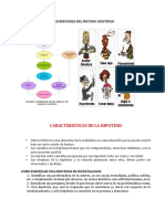 caracteristicas de la hipotesis 3