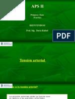 Clase 1 practico- parte 1. Toma de Tension arterial- Con audio 1 (2).ppsx
