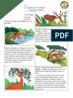 El ciervo y la fuente 4to