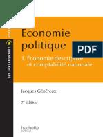 Économie politique Tome 1  Économie descriptive et comptabilité nationale by Jacques Généreux (z-lib.org)