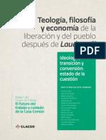 teoloogía, filosofía y economía de la liberación y del pueblo despues de laudato si