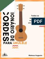 DICIONÁRIO DE ACORDES