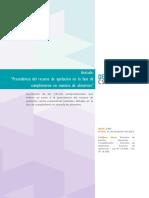 2306 - Artículo Procedencia del recurso de apelación en la fase de cumplimiento en materia de alimentos (2)