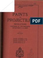 Paint for Projectiles 1917
