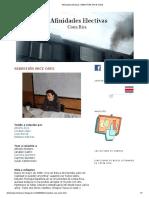 Afinidades Electivas_ SEBASTIÁN ARCE OSES