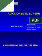 ADICCIONES 2013