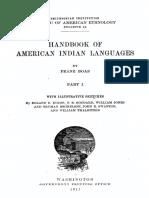 Boas Franz. - Handbook of American Indian languages. Volume 1.pdf