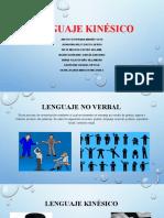 Lenguaje kinésico