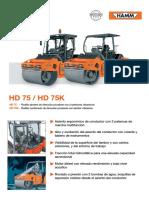 FICHA TECNICA HD75K