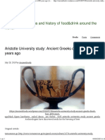 Aristotle University study_ Ancient Greeks drank beer 4,000 years ago _ Ancientfoods
