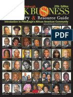 2011 Pittsburgh Black Business Directory