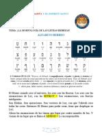 4- LA MORFOLOGIA DE LAS LETRAS HEBREAS.pdf